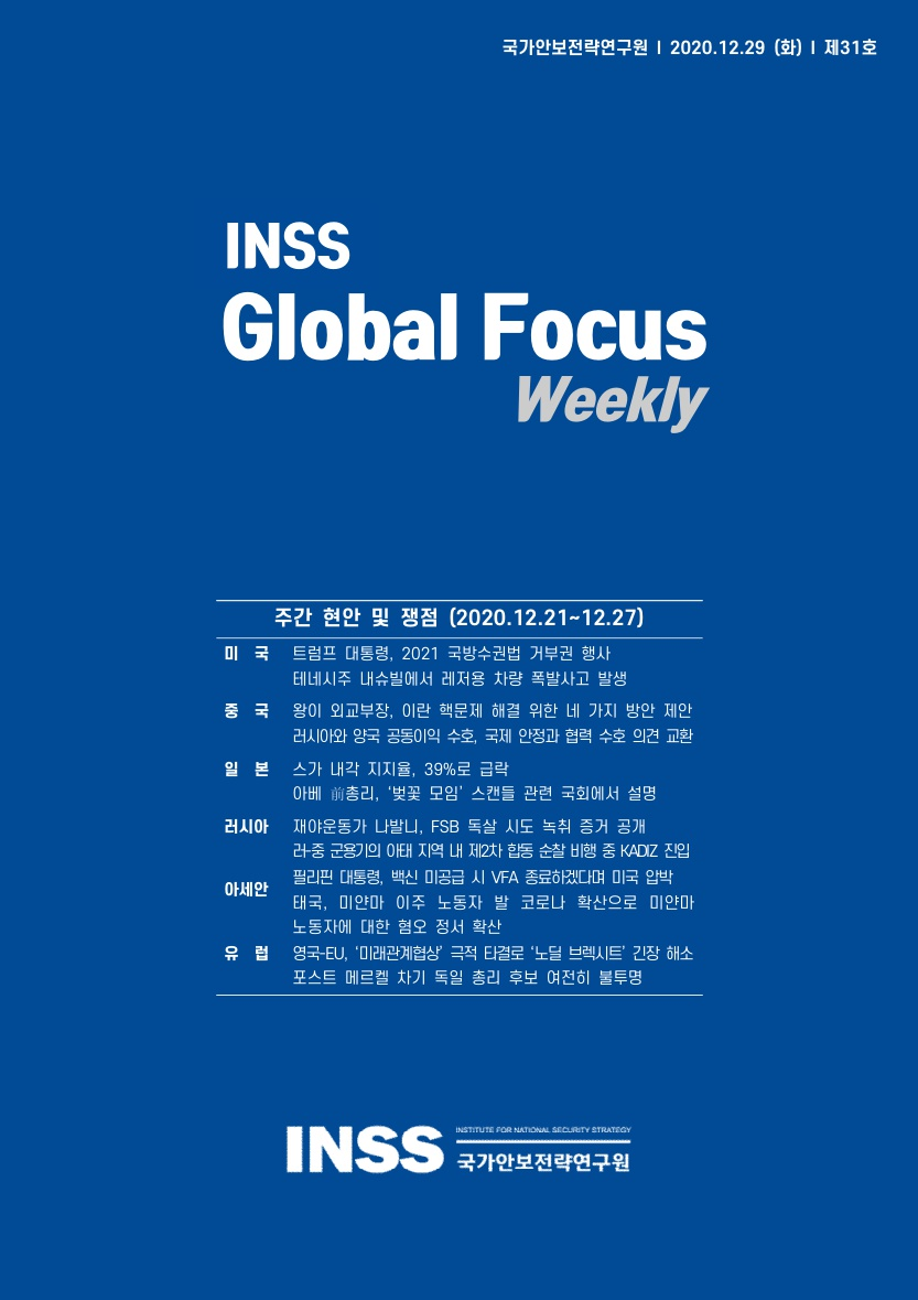 INSS Global Focus Weekly